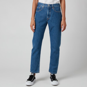 Levi's Women's 501 Crop Jeans - Sansome Breeze Stone