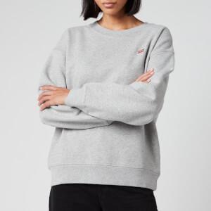 Levi's Women's Standard Crew Neck Sweatshirt - Smokestack Heather