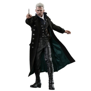 Hot Toys Movie Masterpiece 1/6 Scale Fully Poseable Figure: Fantastic Beasts: The Crimes of Grindelwald - Gellert Grindelwald