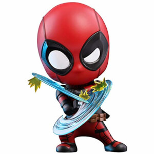 Figurine Cosbaby Deadpool (Version Esquive) - Deadpool 2 - Taille S - Hot Toys