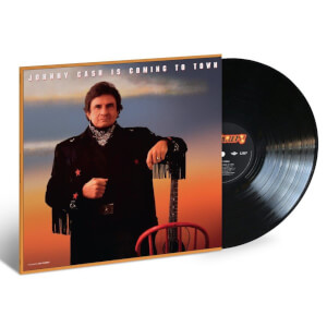 Johnny Cash - Johnny Cash Is Coming To Town LP
