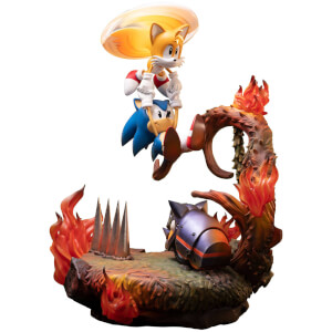 First 4 Figures Sonic The Hedgehog Resin Statue - Sonic and Tails