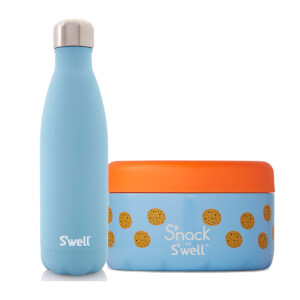 S'well Aquamarine Lunch Box Set (Worth £52.00)