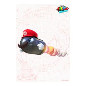 Bullet Bill (Super Mario Odyssey) Art Print