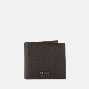 Polo Ralph Lauren Men's Billfold Wallet with Coin Pouch - Black