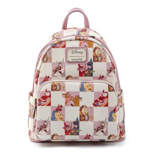 Loungefly Disney Rose Checker Mini Backpack