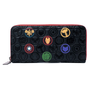 Loungefly Marvel Icons Aop Wallet