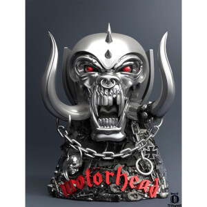 Knucklebonz Motorhead Rock Iconz Statue War Pig 18 cm
