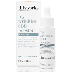 this works My Wrinkles CBD Booster and Bakuchiol