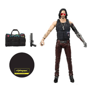 "McFarlane Cyberpunk 2077 2 7"" Scale Action Figure Johnny Variant"
