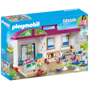 Playmobil City Life Take Along Vet Clinic (70146)