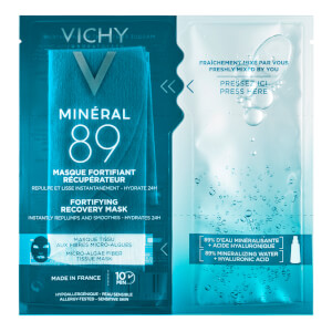 VICHY Minéral 89 Hyaluronic Acid Fortifying Sheet Mask