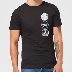 Westworld Delos Destinations Men's T-Shirt - Black