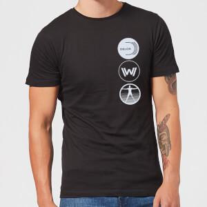 Westworld Delos Destinations Men's T-Shirt - Black