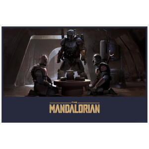 "Star Wars Mandalorian ""Forge Room"" Lithograph by Brian Matyas"