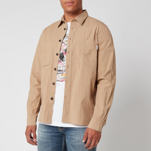 PS Paul Smith Men's Pocket Shirt - Beige
