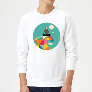 Andy Westface Surfs Up Sweatshirt - White