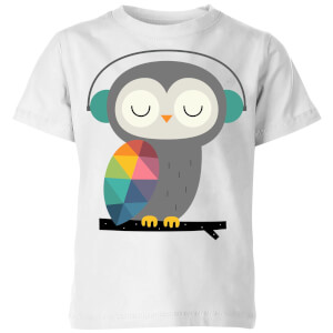 Andy Westface Owl Time Kids' T-Shirt - White