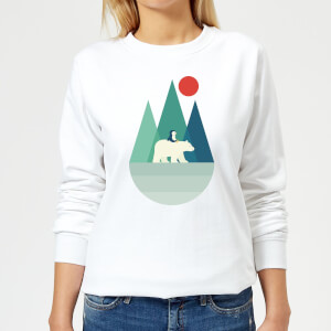 Andy Westface Bear You Women's Sweatshirt - White