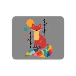 Andy Westface Rainbow Fox Mouse Mat