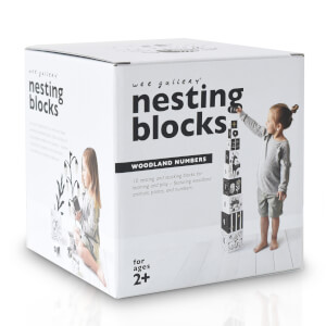 Wee Gallery Nesting Blocks - Woodland Number