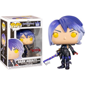 Disney Kingdom Hearts 3 Dark Aqua With Keyblade EXC Funko Pop! Vinyl