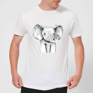 Cute Elephant Men's T-Shirt - White