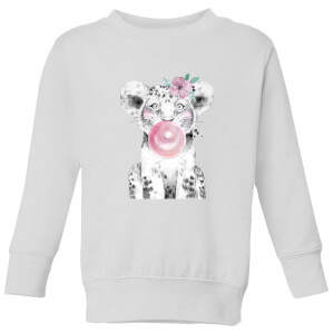 Bubblegum Cub Kids' Sweatshirt - White