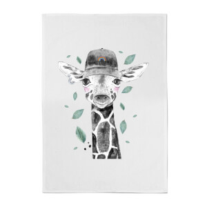 Rainbow Giraffe Cotton Tea Towel