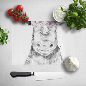 Indie Rhino Chopping Board