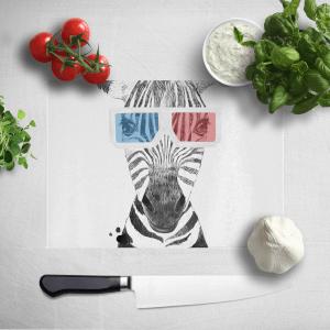 3D Zebra Chopping Board