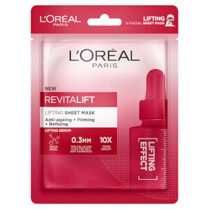 L'Oréal Paris Revitalift Lifting Sheet Masks (Pack of 5)