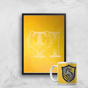 Harry Potter Hufflepuff Mug & A4 Print