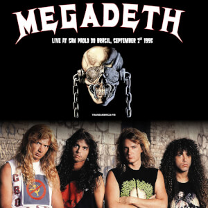 Megadeth - Sao Paulo Do Brasil September 2nd 1995 (White Vinyl)