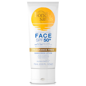 Bondi Sands Sunscreen Lotion SPF50+ - Face 75ml