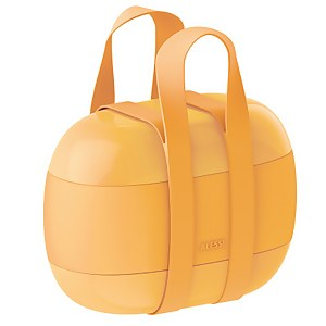 Alessi Lunch Box Food à Porter - Yellow