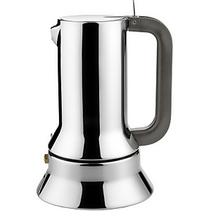 Alessi Espresso Coffee Maker - Induction - Silver