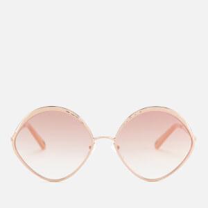 Chloé Women's Dani Round Frame Sunglasses - Rose Gold