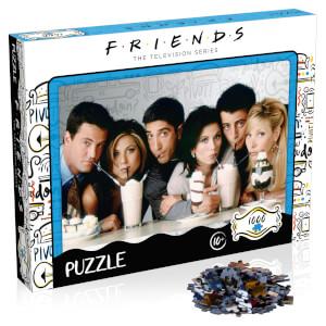 1000 Piece Jigsaw Puzzle - Friends Milkshake Edition