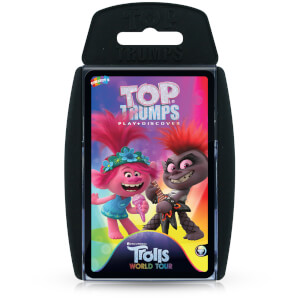 Top Trumps Card Game - Trolls 2 Edition