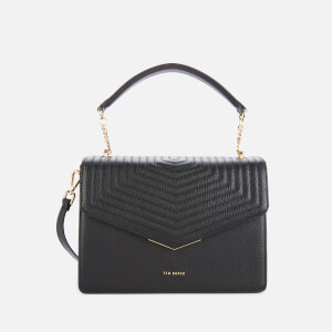 Ted Baker Women's Brittni Quilted Envelope Top Handle Bag - Black