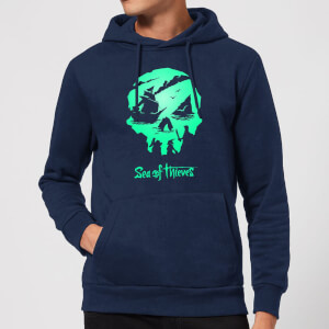 Sea Of Thieves 2nd Anniversary Logo Hoodie - Navy