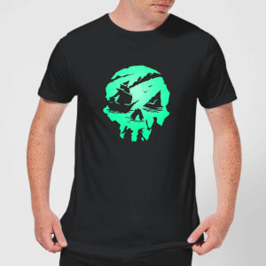 Sea Of Thieves 2nd Anniversary Skull Unisex T-Shirt - Black
