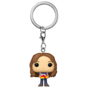Harry Potter Holiday Hermione Granger Funko Pop! Keychain