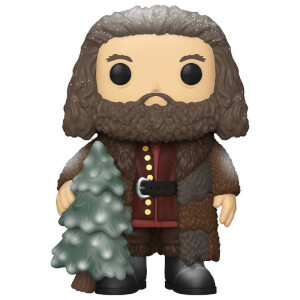 Harry Potter Holiday Rubeus Hagrid 6-Inch Funko Pop! Vinyl
