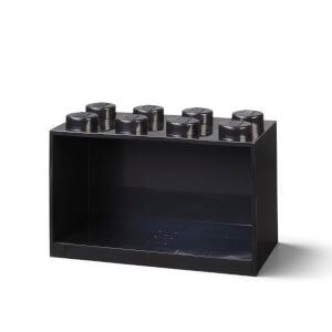 LEGO Storage Brick Shelf 8 - Black