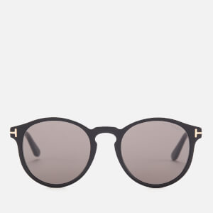 Tom Ford Men's Ian Soft Rounded Sunglasses - Black