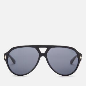 Tom Ford Men's Paul Pilot Sunglasses - Black