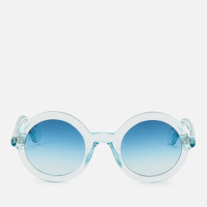 Moncler Men's Round Acetate Sunglasses - Blue