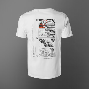 Star Wars Attack On Echo Base Unisex T-Shirt - White